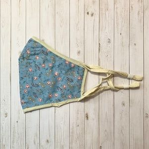 Baby Blue Floral Face Mask (NEW)